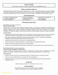 Walk Me Through Your Resume Best Of Examples For Investment Banking Analyst At Sample