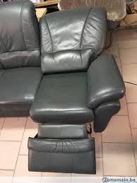 canapé 3 places relax electrique canapé 3 places avec relax électrique 1 place a vendre 2ememain be