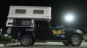 Four Wheel Pop-up Truck Camper (Swift Model)