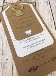 Image Is Loading Personalised Vintage Rustic Luggage Tag Wedding Invitation Sample