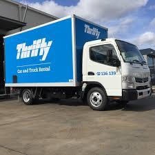 100 Thrifty Truck Rentals Black Flag Designs Vehicle Wrap Brisbane Northside