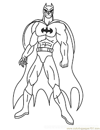 Free Printable Batman Coloring Pages Photo
