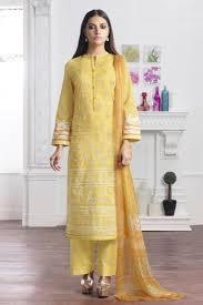 Designer Salwar Suits Online Embroidered Cambric Cotton Kameez Catalog