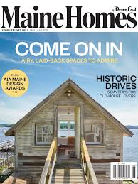100 Houses Magazine Online Maine Homes By Down East MayJune 2019