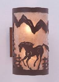 cowboy wall sconce log home living wall sconces