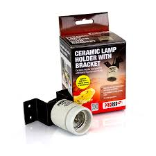 Reptile Heat Lamps Uk by Pro Rep Ceramic Lamp Holder With Bracket Livefood Uk Ltd