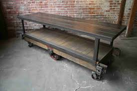 Sale Ideas Pallet Tv Stand Iron And Wood To By Retroworksstudio Industrial Pipe