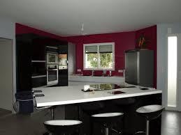 cuisine framboise mur framboise et gris cheap toile with mur framboise et gris