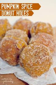 Dunkin Donuts Pumpkin Donut Recipe by Pumpkin Spice Baked Donut Hole Recipe