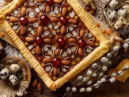polnischer mazurek kuchen