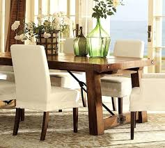 Dining Room Slipcover Brown Chair Slipcovers Suitable Add Burlap
