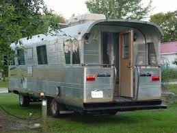 With A Back Porch Built It Find This Pin And More On Vintage Travel Trailers