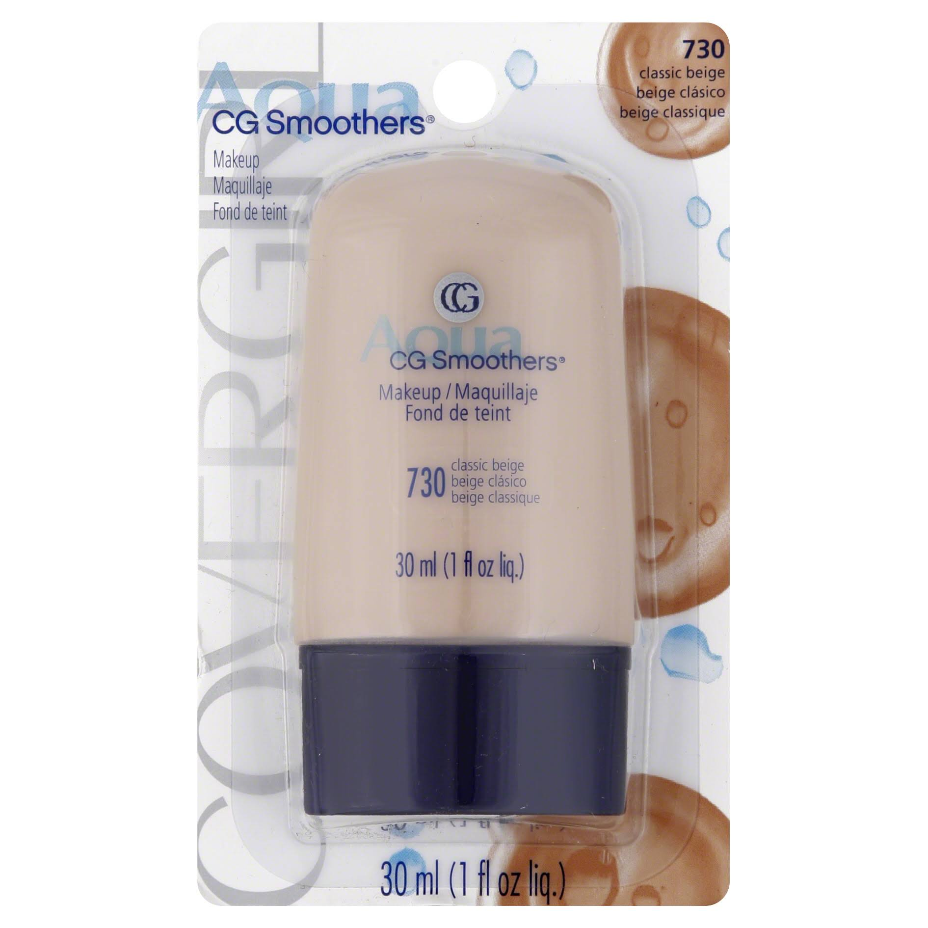 CoverGirl Smoothers All Day Hydrating Make-Up - Classic Beige, 30ml