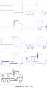 How To Draw Simple Dump Truck Printable Step By Step Drawing Sheet ... Step 11 How To Draw A Truck Tattoo A Pickup By Trucks Rhdragoartcom Drawing Easy Cartoon At Getdrawingscom Free For Personal Use For Kids Really Tutorial In 2018 Police Monster Coloring Pages With Sport Draw Truck Youtube Speed Drawing Of Trucks Fire And Clip Art On Clipart 1 Man