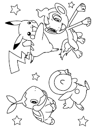 Pokemon Coloring Sheets Printable Kids New Pages Online