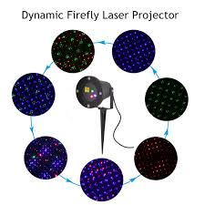Firefly Laser Lamp Diamond by Floureon Outdoor Rgb Auto Dynamic Firefly Laser Projector