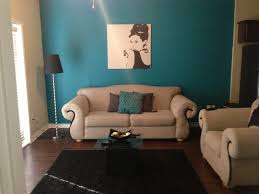 Teal Sofa Living Room Ideas by 50s Glam Teal Grey And Black Living Room For The Home
