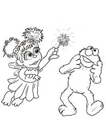 Click To See Printable Version Of Abby Cadabby And Elmo Coloring Page