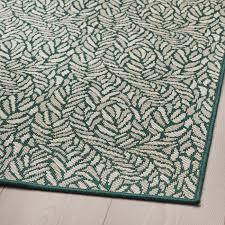 skelund teppich flach gewebt drinnen drau grünbeige 200x250 cm
