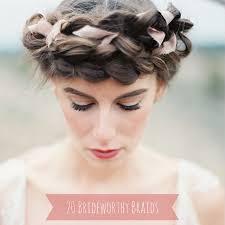 20 Beautiful And Bride Worthy Braids Chic Vintage Brides