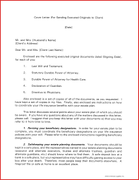 Cover Letter For Sending Documents Sample 2017 With