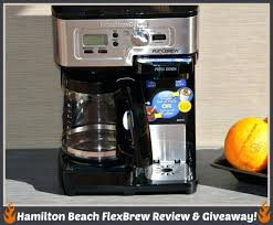 Hamilton Beach Flexbrew Manual 2 Way Coffeemaker 49983 Instructions