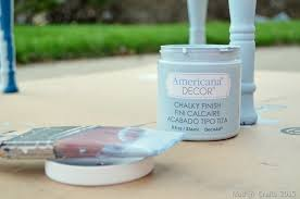 Americana Decor Chalky Finish Paint Colors by Wet Distressing Layers Of Chalky Finish Paint
