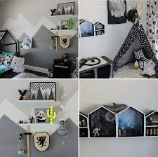 Big Kids Monochrome Bedroom Makeover Kmart Australia Style See More Styling