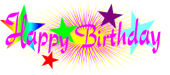 happy birthday png text clipart