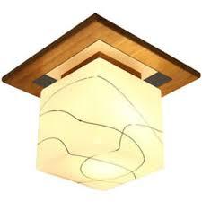 details zu moderne led runde decken leuchten für wohnzimmer schlaf zimmer holz glas ei e5c9