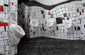 hundertwasser wc digitalphoto