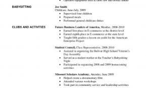 Example Of Resume Summer Job New Awesome Sample For College Student Looking