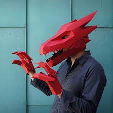 Halloween Half Mask Ideas by Diy Low Poly Animal Masks By Wintercroft Papercraft Handmade