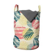 abakuhaus wäschesack wäschekorb mit griffen kordelzugverschluss für waschsalons palme grunge brasilien blätter kaufen otto