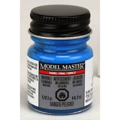 Testor Model Master Paint - Bright Light Blue, 14.7ml
