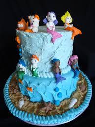 my pink little cake bubble guppies cake