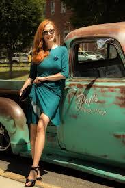100 Vintage Trucks Turning Heads Linkup Karina Dresses And The