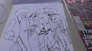 Michael Jackson Coloring Book 1985 Collection