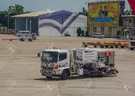 100 Gasoline Truck Chiang Mai Thailand Jun 22 2016 Running At