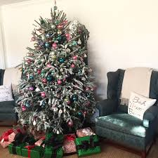 House Of Ivy DIY Flocked Christmas Tree