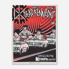100 Police Truck Dead Kennedys December 12th13th Korova Music Venue 2015 Tour Poster Hello Merch