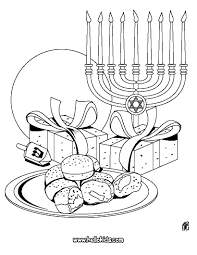 Hanukkah Printable Coloring Pages Free Detroitmommies To Download