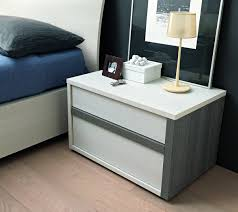 Tall Slim Cabinet Uk by Sma Mobili Slim Bedside Cabinet Two Tone Nightstand Robinsons Beds