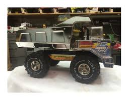 The Bureau Of Suspended Objects — ITEM 064: Silver Tonka Mighty ... Tonka Americas Favorite Toys Truck Trend Legends Vintage 1949 No 50 Steam Shovel Top Parts Only Pressed Steel Ramp Hoist Toy Vehicle For Tonka Ford Truck Top 1962 For Parts 312007589698 809 Kustom Trucks Make 880196 Dump Assembly Youtube Red Fire Engine Co 13 55250 Or 171134 Custom 59 Schmidt Beer Box Van Wikipedia Plastic Metal 4 X Pickup Carquest Set Of Plastic Tires 3126170047