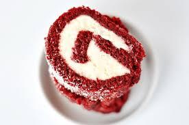 velvet cake roll