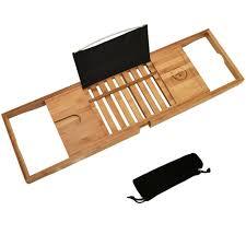 Best Teak Bath Caddy by Folding Teak Wood Bath Shower Mat With Non Slip Feet Easily Rolls