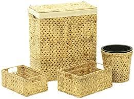 vidaxl korb set 4 tlg aufbewahrungskorb aufbewahrungsbox