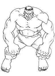 Picture Hulk Coloring Page 50 For With