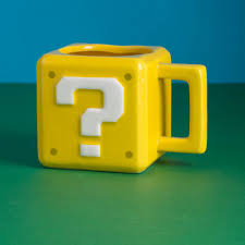 super mario question block mug menkind