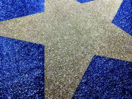 Diamond Blue Event Carpet With Custom Silver Star Design For The Weather Network In